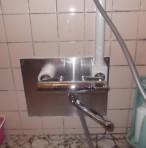 給湯管壁中漏水修繕