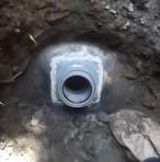 所沢市内 下水管修繕(道路工事)